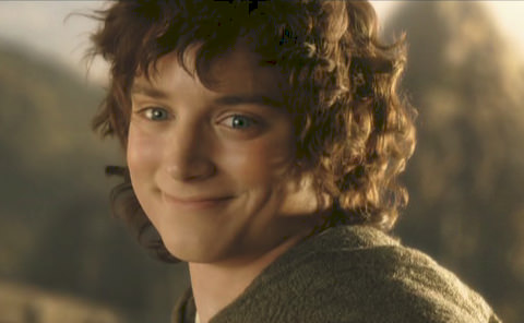 Frodo Happy