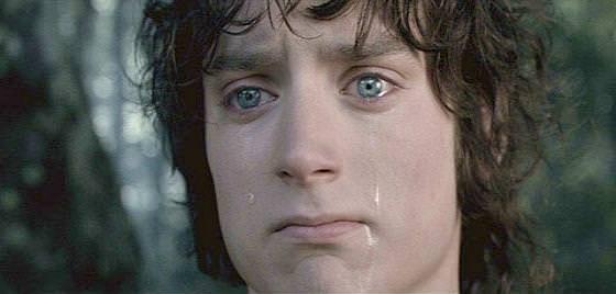 Frodo Sad